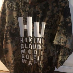 Adidas X Pharrell Williams Hu Hiking jacket